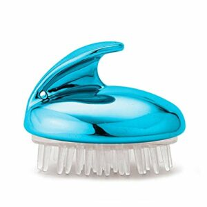 YHN tête en Silicone Brosse pour Le Corps Peigne de Massage shampooing Peigne de Lavage des Cheveux Brosse de Douche Bain Spa Brosse de Massage Minceur