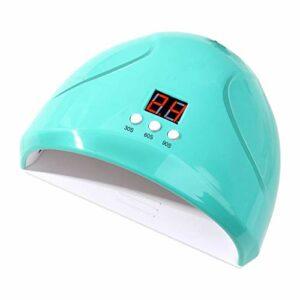 36W USB UV LED Sèche Ongles Lampe pour Gel, écran LCD, Professionnelle indolore ongles et minuterie, parfait pour toutes les gels, (30s, 60s, 99s), Sèche Ongles Vernis Lampe LED UV Serria
