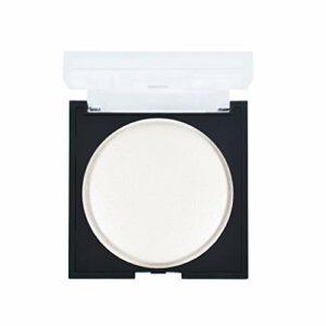B OBLHER Face Shimmer Surligneur Visage Naturel Surligneur Glow Maquillage Poudre blanche brillante Hypoallergénique Maquillage longue durée Résistant à la transpiration et imperméable
