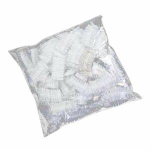 Beaupretty oreille en plastique couvre capuchon d'oreille jetable couvre-oreille imperméable pour teinture pour cheveux douche 300pcs