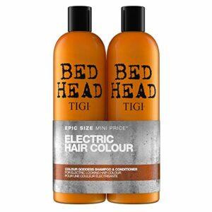 Bed Head by Tigi Colour Goddess shampooing et après-shampooing pour cheveux colorés, lot de 2 x 750 ml