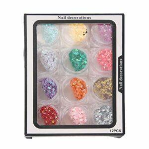Belle 2.5x4mm Exquis Brillant Nail Art Décoration Nail Art Outil Accessoire pour Femmes Filles pour Nail Salon pour Nail Art Artiste pour la Beauté