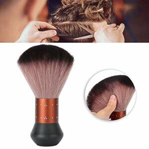 Brosse de cou, brosse de cou professionnelle, brosse de coiffure Fibre de nettoyage de poussière de cheveux Brosse de balayage Brosse d'épilation de visage de cou pour le salon de coiffure et les coif