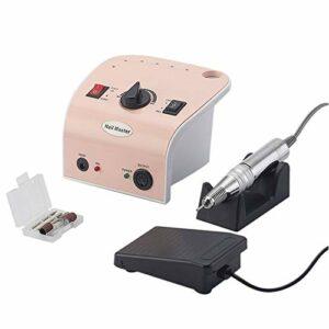 CHENNA Machine de Forage d'ongles Portable 35000 TR/Min pour éliminer Les Ongles acryliques, Les Ongles de Gel, l'amincissement et Les Ongles de lissage, Facile à Utiliser (Rose)