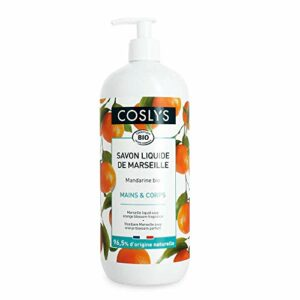 Coslys Hygiène Corporelle Savon de Marseille Mandarine 1 L