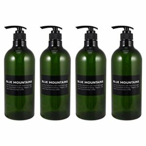 Cosmétiques Vide 4pcs 1000ml bouteilles rechargeables lotion bouteille de lotion plastique bouteilles vides douche gel shampooing distributeur de savon pompe de bain de bain air bouteille A2 Étanches