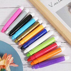Couleur des cheveux Pastel Crayon de teinture temporaire portable non irritant pour les coiffeurs de salon pour hommes et femmes pour la beauté