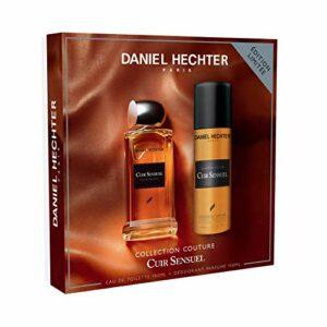 Daniel Hechter – Ecrin Collection Couture Cuir Sensuel – Coffret Cadeau Homme – Eau de Toilette 100 ml – Déodorant 150 ml