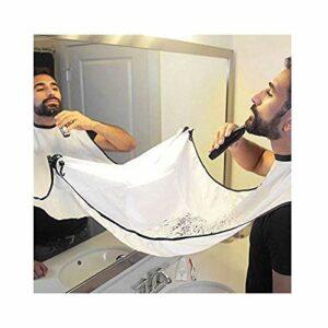 de salle de bain Lavabo de salle de bain Tablier Tablier – Homme de salle de bain Barbe Care tondeuse cheveux Robe 1pièce
