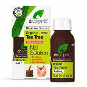 Dr. Organic Solution Antifongique Ongles au Tea Tree Bio 10 ml