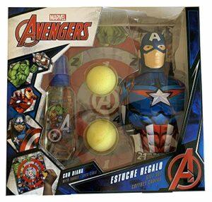 Eau de Toilette 90 ml + Gel de Figure 350 ml Captain America + Diana and Balls Game