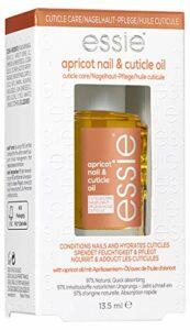 Essie Huile Abricot Ongles & Cuticules – Soin Réparateur et Nourrissant – Transparent – Contenance : 13.5 ml