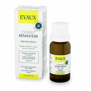 EVAUX – EVONAIL Réparateur – Soin des Ongles fragilisés, mous, secs ou cassants – 15 ml