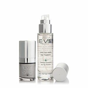 EVE REBIRTH Kit : Soin Anti-Rides Yeux Bio-Intelligent, 15 ml + Traitement Cheveux, 50 ml