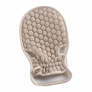 feiren 1 gant de douche exfoliant pour la peau et le corps – Gant de massage, de massage, de treillis et de particules – Gant de toilette pour le corps – Pour la douche (couleur : C)