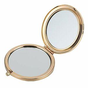 FRCOLOR Filles Miroir de Poche Pliant Miroir Cosmétique Double Face Maquillage Miroir Compact Portable Petit Sac à Main Miroir pour Femmes Filles