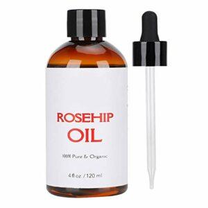 Huile essentielle de massage à la rose musquée, soins de la peau du corps hydratants Relax soulager la fatigue SPA Huile de massage aromathérapie pour la maison ou le salon de beauté (120 ml)