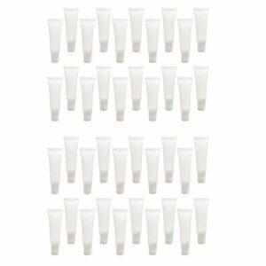 joyMerit Paquet de 80 Contenants de Crème Cosmétique de de Brillant à Lèvres de Tubes En Plastique Vides