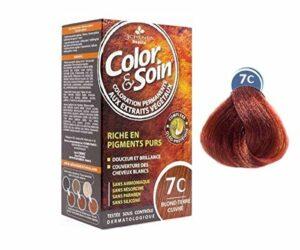 Les 3 Chênes : Color & Soin 7C – Blond Terre Cuite