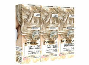 L'Oréal Paris Age Perfect Soin Couleur Embellisseur Touche de Beige 80 ml – Lot de 3