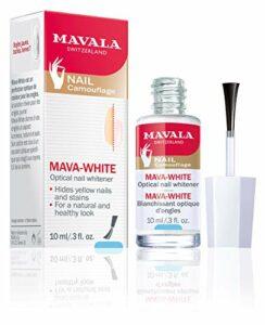 Mava-White optique à ongles manucure