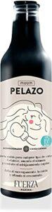 muum – Après-shampooing Pelazo Force Maximale. Renforce, augmente le volume et combat l'amincissement des cheveux. Empêche les frisottis, la chute des cheveux et stimule la croissance – 500 ml.