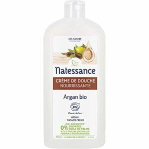 Natessance Hygiène Douche Cream Argan Fleur D'oranger sans Sulfates – Bio – 500 ml