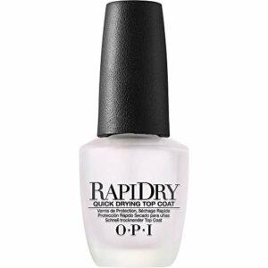 OPI – Vernis à Ongles – RapiDry – Top Coat – Vernis de Protection – Séchage Rapide – Qualité professionnelle – 15 ml