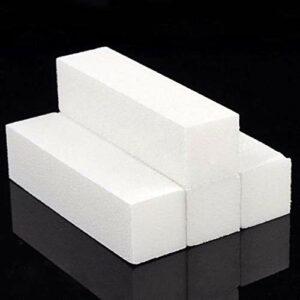 OUDE 4pcs-lot-nail art-polissore-lime-bloc-pédicure-manucure-polissore-polissoir-blanc-maquillage-outils de beauté