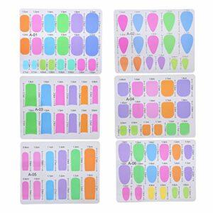 Outils portatifs d'art d'ongle de bricolage Extensions d'ongles en fibre de verre à usage domestique pour les débutants