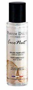 Parfum D'Elite Paris – Coconut – Brume Parfumée Corps & Cheveux – Pour Femme – Légère et Rafraichissante, Non Tachante, 100 ml