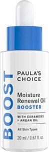 Paula's Choice Booster Sérum Multi Huiles – Réduit les Rougeurs & Hydrate avec Vitamine E, Huile de Jojoba & d'Argan – pour le Visage & Yeux – Peaux Sèches – 20 ml
