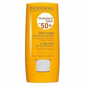 PHOTODERM MAX Stick SPF 50+ Protection optimale UVA-UVB – Active les défenses naturelles de la peau  Lèvres et zones sensibles