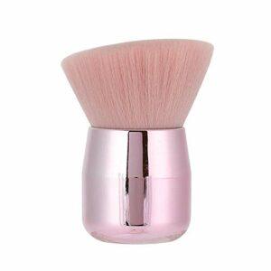 Pinceau de maquillage, brosses cosmétiques poignée portable doux pour la peau tactile utilisé comme pinceaux à ongles, pinceau de maquillage, pinceaux blush, pinceaux à poudre(Tête biseautée)
