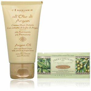 pour les cheveux et le corps' olio par argan crème mains anti-âge' 75 ml