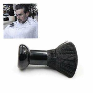 Professionnel Barber Neck Duster Brosse coupe de cheveux Mode Brosse Styliste coiffure Brosse de nettoyage Noir