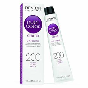 REVLON PROFESSIONAL La Crème Soin Couleur Repigmentant 200 Violet, 100ml