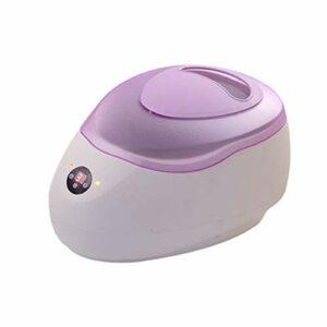 Salon Bain de Paraffine numérique 2,3 Litre Réchauffeur de Pot de Cire avec Visage de Casquette Pourpre de beauté Spa Épilation des Mains Pieds Corps