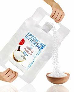 Sels d'Epsom ● Forme naturelle de Magnésium 6 Kg ● Multi Usage – Cuisine, Beauté, Santé, Jardin, Bain de Relaxation