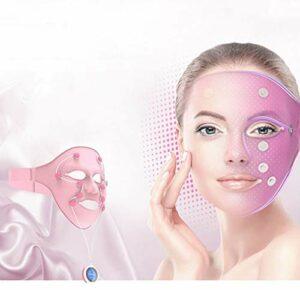 Smart Facial Mask Instrument, Facial Spa Soins De Beauté USB Rechargeables À Spectre Complet Thérapie Faciale Massager Pour Toute La Peau De Type Visage, Masque De Beauté