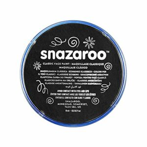 Snazaroo –  1118111 – Maquillage – Galet de Fard Aquarellable – Noir – 18,8g