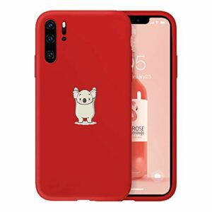 Suhctup Newest Conception de Modèle Couleur Coque Huawei Honor 20 [Coque Silicone Liquide] [Ultra-Mince] Anti-Rayure, Housse Protection Complète du Corps Silicone Gel Case Huawei Honor 20