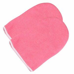 SUPVOX Paraffine Gants en Tissu de Cire Gants de Bain en Cire Gants Hydratants Chaleur Spa Traitement Des Mains