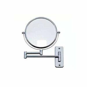 SYue Miroirs de Maquillage Double Face muraux de 6/7/8 Pouces grossissant étendent Les miroirs de Toilette de Salle de Bain