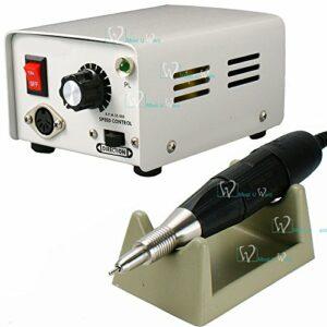 Vernis à ongles manucure bijoux technicien Micro Moteur électrique pièce à main 35000tr/min pour dentier Outil de polissage CE