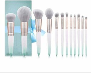XHDMJ Outils De Beauté Ensemble De Pinceaux De Maquillage, Adapté Aux Sourcils Ombre À Paupières Mixte Halloween Maquillage 12 Pcs