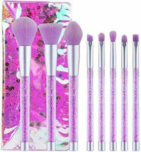 XHDMJ Outils De Beauté Maquillage Brush Set, Foundation Poudre Ombre À Paupières Poudre Mixte Cosmétique Outils 8 Pcs