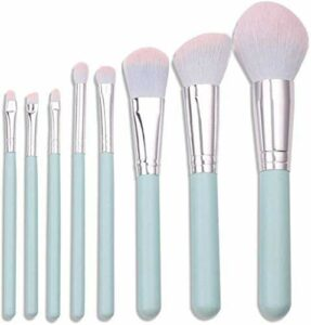 XHDMJ Outils De Beauté Pinceau De Maquillage Ensemble Professionnel Foundation Brush Advanced Synthesis 8Pcs