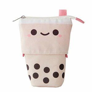 xiangqian Pearl Milks Tea Shape Crayon Belle Creative Perle Lait Thé Crayon Crayon Poudre Maquillage pour Femmes Filles