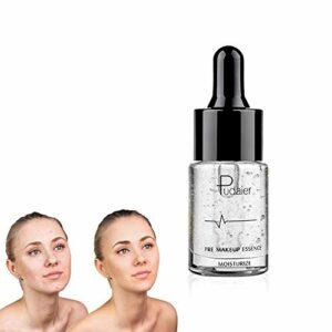 Xiton 1pc Premium Skin Maquillage Huile Maquillage ApprêT à Base De Maquillage Lips Essence Avant Foundation Primer Huile Hydratante Visage Pour Les Soins Quotidiens De La Peau(02 Argent, 15 Ml)